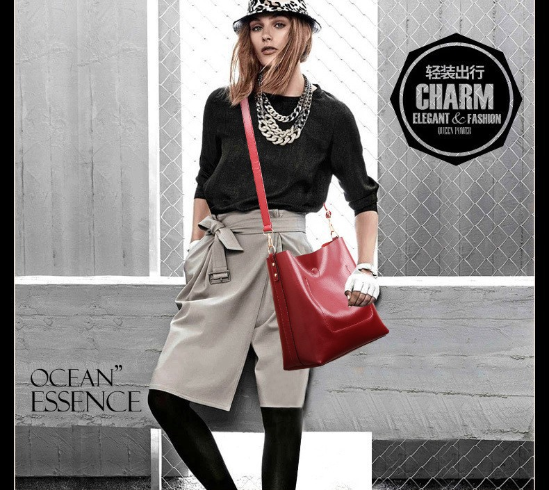 Ladies Composite Handbags Woman Fashion Pu Leather Bags Crossbody Bag For Women Fashion 2015 Designer High Quality Bags BH270 (6)