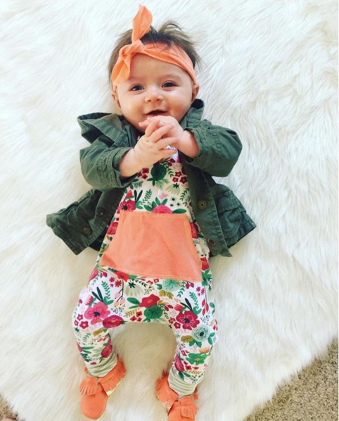 2017 Summer Newborn baby girls clothing Infant girls Romper+Headband jumpsuit roupas de bebe 2pcs Baby girl clothes outfit sets fashion 2pcs set newborn baby girls jumpsuit toddler girls flower pattern outfit clothes romper bodysuit pants
