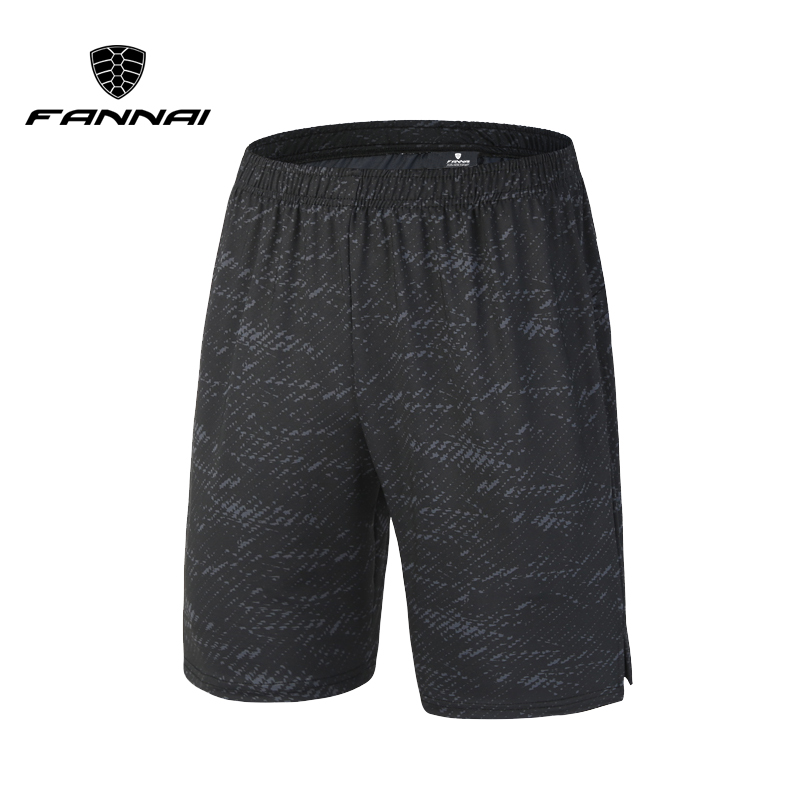 FANNAI Men Running Shorts Sport Mens Gym Shorts With Pocket Quick Dry Fitness Compression Sports Jogging Short Pant leggings italian style fashion men s jeans shorts high quality vintage retro designer classical short ripped jeans brand denim shorts men