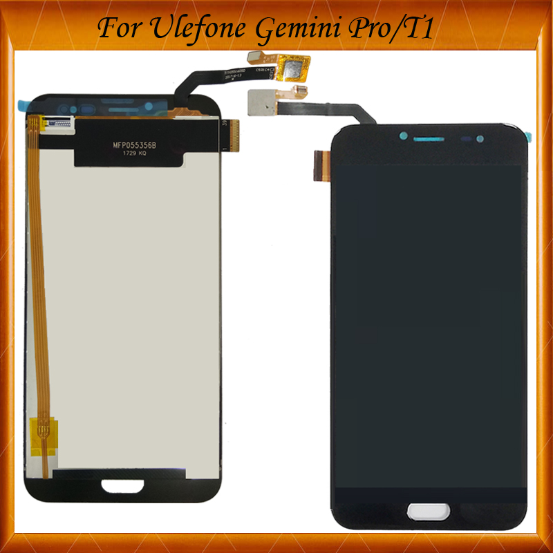 100% Tested For Ulefone Gemini Pro T1 LCD Display and Touch Screen Assembly Repair Part 5.5'' Replacement For Ulefone Gemini Pro