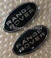 86*44mm Frente Emblema Traseiro Adesivo Emblema Grade para Evoque Range Rover Discovery 3 4 Freelander 2 Defensor