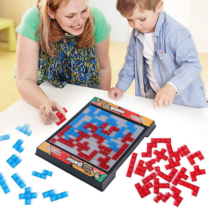 New Tetris Blokus Strategy Game Toy For Fun Family Parent-child Tnteractive Puzzle Toy Kids Gift