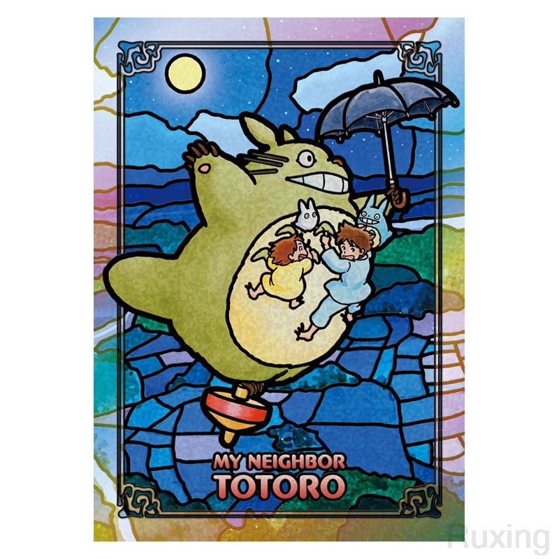 100% Full 5D Diy Daimond Painting Japanese animeMy Neighbor Totoro3D Diamond Embroidery cross stitch child gift