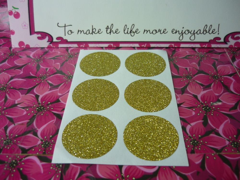 3cm gold round glitter stickers in stickers from home garden on aliexpress com alibaba group