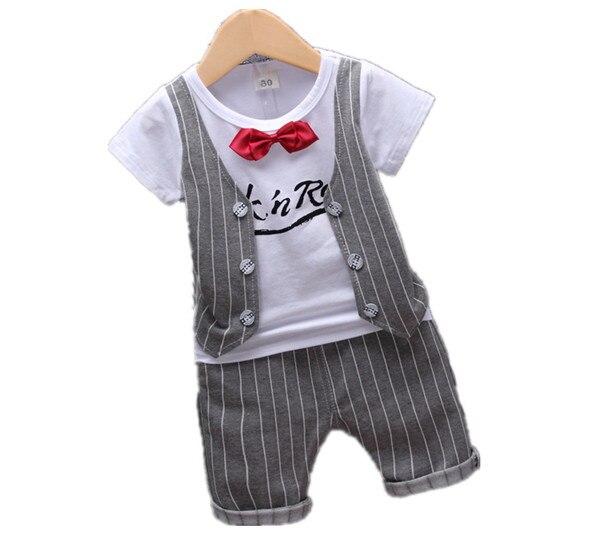 a641baa45 2018 bebé Niños primavera ropa casual ropa del bebé carta arco 2 piezas  traje niños jacket + ropa de pantalones 1-4yrs