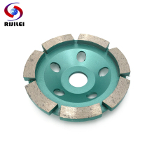 RIJILEI High quality 4inch Diamond grinding wheel disc Bowl Shape Grinding Cup for concrete floor marble Polishing pad HC05 цены онлайн