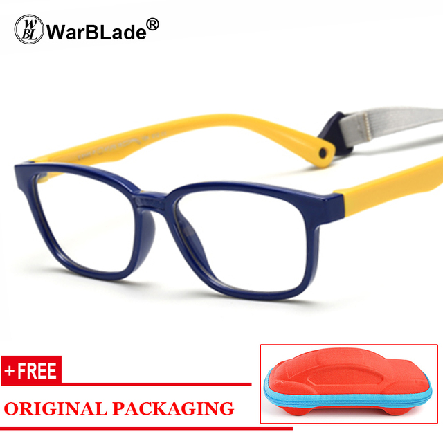 725f4d4f22 Healthy Silicone Children Clear Glasses Girls Boys Flexible Eyewear Frames  Kids Glasses Frames Spectacle Frames Child Free Case