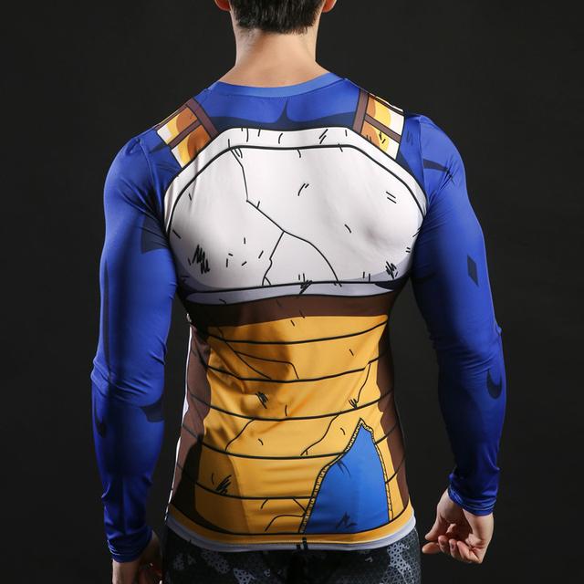 Vegeta Damaged Fitness Compression shirt
