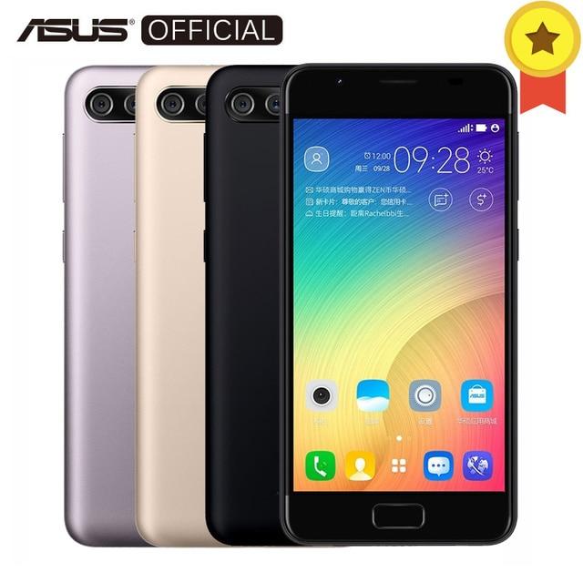 """Оригинальный Asus Zenfone 4 Max Peg ASUS 4A Доль сзади Камера 4 ядра MT6737 Android 7.0 3 ГБ Оперативная память 32 ГБ встроенная память отпечатков пальцев ID 5 """"мобильный телефон"""
