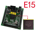E15 Envío gratis altera fpga altera junta EP4CE15f17C8N fpga placa de desarrollo NIOS II junta + SDRAM + USB DC-5V PODER