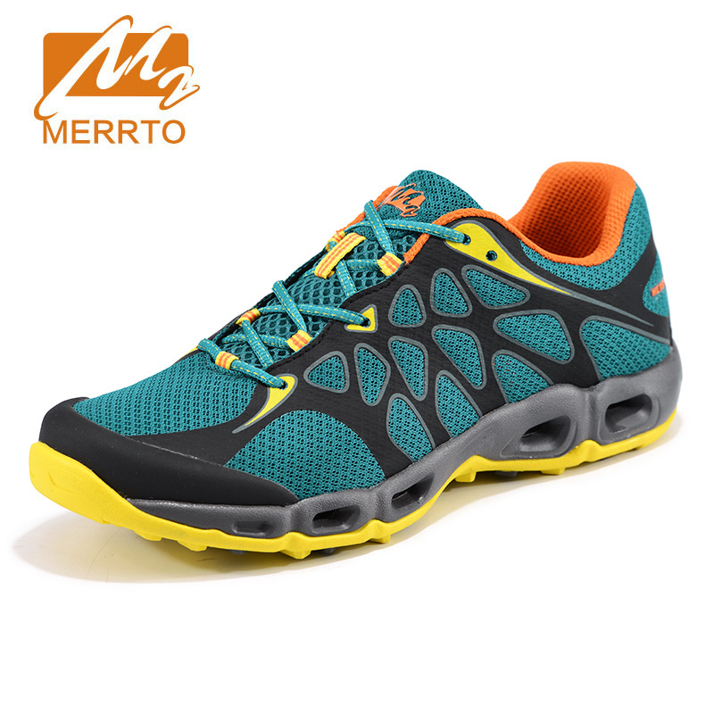 2017 MEEETO Men Hiking Shoes Breathable Air Mesh Summer Trekking Shoes Lightweight Mountain Walking Boots zapatos outdoor hombre rax men hiking shoes women outdoor climbing trekking boots breathable lightweight walking shoes zapatos hombre senderismo