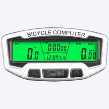 Buy HobbyLane SD-558C Bicycle Speedometer Wireless Waterproof Bicycle Odometer Bicycle Multi-function LCD Display Odometer Timer directly from merchant!