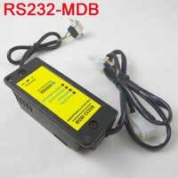 20 pcs RS232-MDB adattatore come cashless dispositivo di pagamento insieme con il disegno di legge e gettoniera al MDB distributore automatico