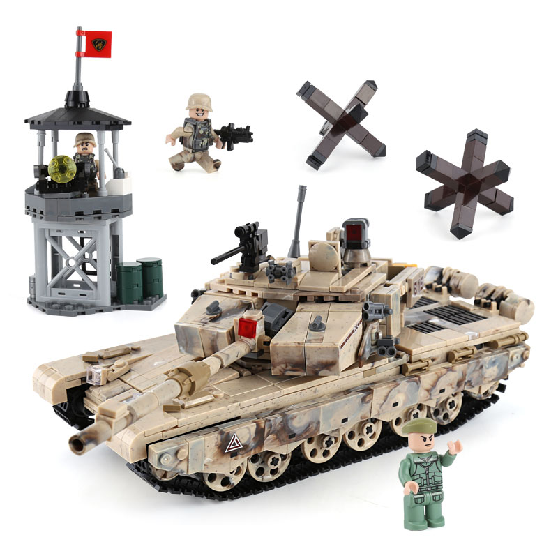 XINGBAO Army Military Type 99 Main Battle Tank Building Blocks Bricks Classic Technic Model Kids Toy Gift Compatible Legoings mini transportation army military blocks assembled car tank compatible legoingly building brick handmade model toy for kids gift