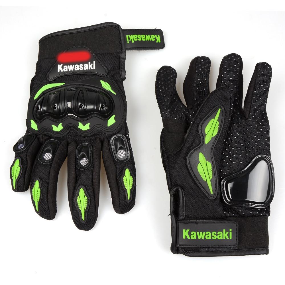 Sport motorcycle gloves man woman protect hand full finger moto guantes For Kawasaki Ninja 1000 1000R 250 250R 300 300R 400R 650 r landes ojibwa woman
