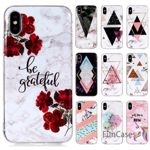 Case For Huawei P20 Pro Case For Huawei P20 Lite Soft Case P20 Luxury Marble Flower Letter Silicone Back Cover Huaweii etui