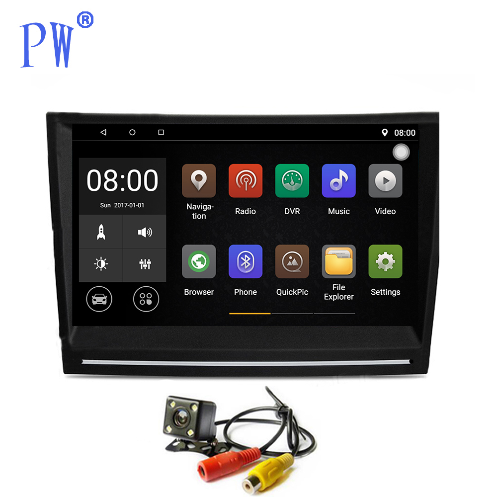 Android 7.1/8.0 Car Radio Player GPS Navi for Porsche 911 997 Cayman 987 2005-2008 Boxster 987 2005-2012 Head Unit Navigation