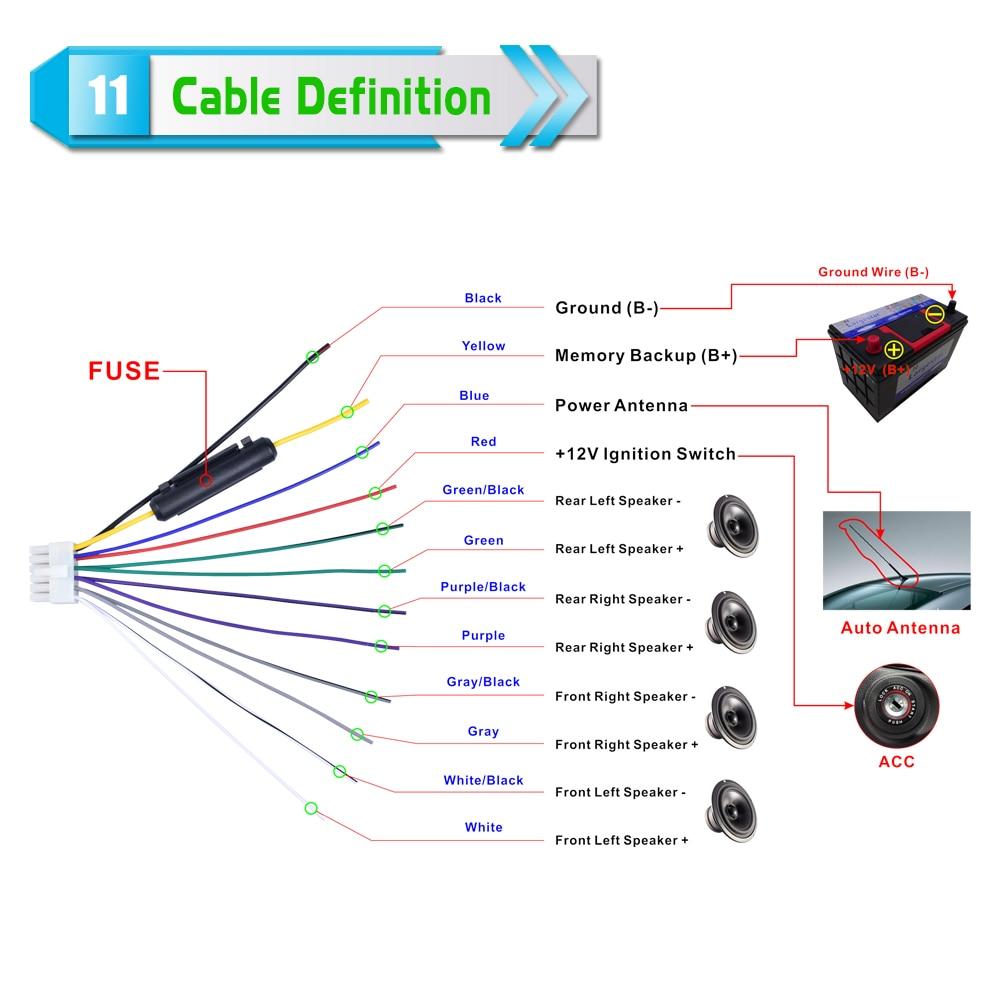 12V 1Din Car Радио Аудио Bluetooth стерео MP3 - Автомобиль электроникасы - фото 5