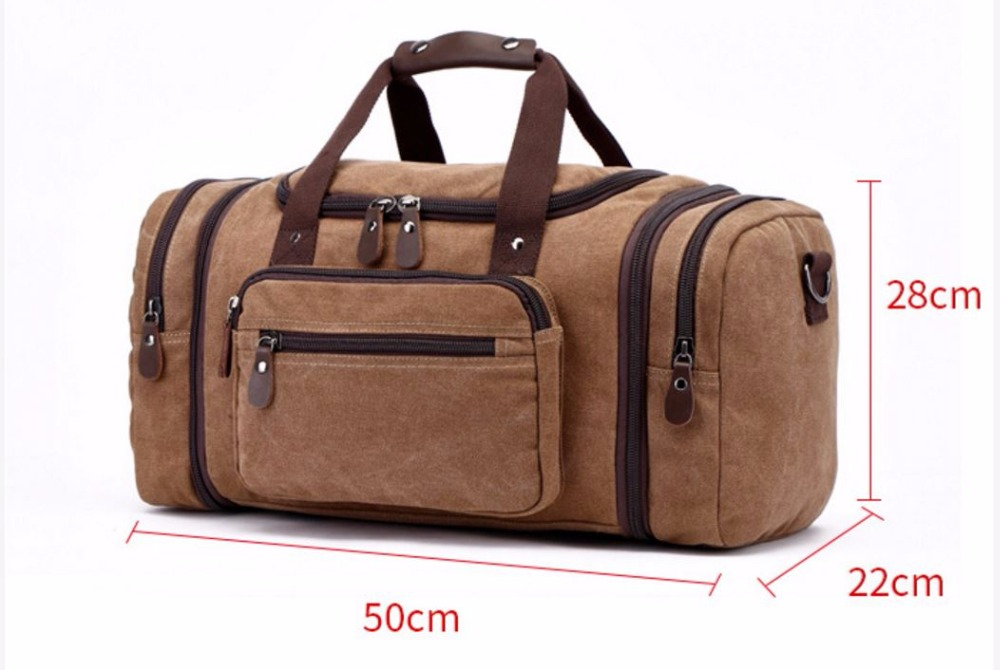 Men's Travel Bag Zipper Luggage Travel Duffle Bag 2017 Latest Style Large Capacity Male Female Porta Travel Tot Zipper bagble