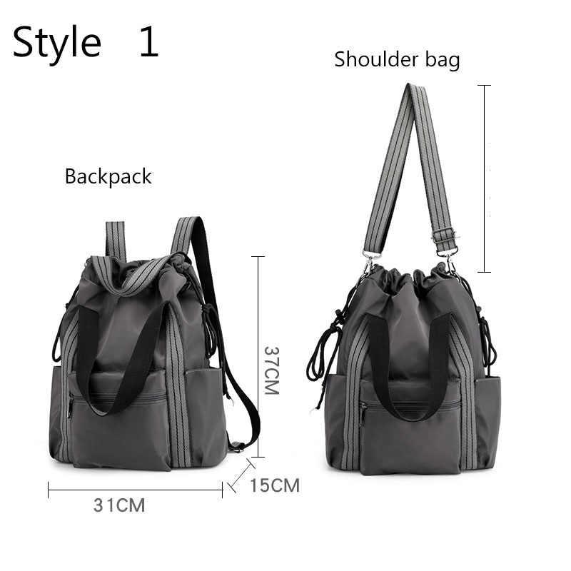 Нейлоновый коврик для йоги, сумки для фитнеса, сумка на плечо, рюкзак и сумка De Sport, Tas Drawstring Gymtas для женщин, Sporttas, ретро, XA39A