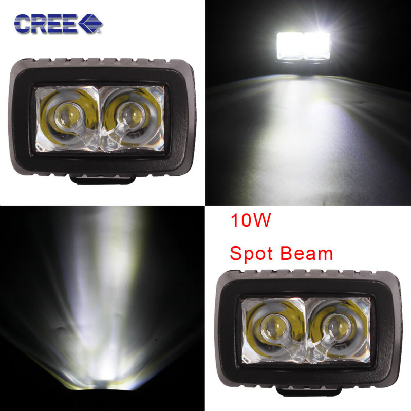 2pcs 3 inch LED Work Light,10W Motorcycle Headlight,XBD MOTO Driving Lamps,Waterproof Off Road Light Spot Flood 12V 24V 10w led work light 2 inch 12v 24v car auto suv atv 4wd awd 4x4 off road led driving lamp motorcycle truck headlight