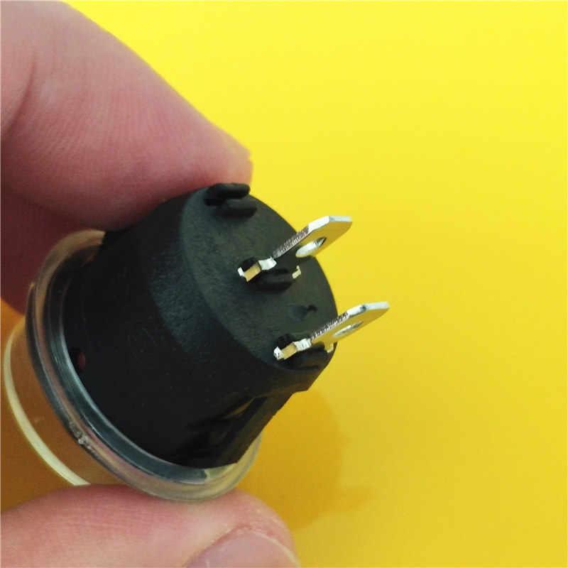 KCD1 2PIN 20mm encendido/apagado SPST G149 interruptor basculante redondo bote DC AC 6A/250 V impermeable gorra coche salpicadero pista Dropshipping