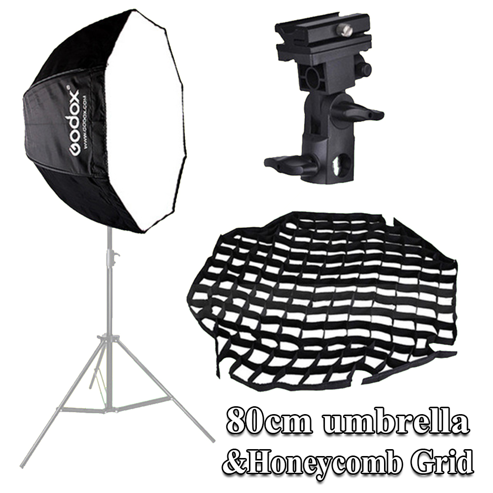 "Godox Umbrella Softbox Price In Pakistan: Godox 32""/ 80cm Umbrella Octagon Softbox Reflector"