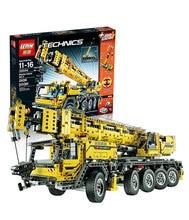 NEW 2606pcs LEPIN 20004 technic series car-styling Motor power mobile crane MK Model Building blocks Bricks Compatible 42009