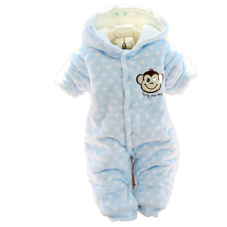 Baby winter coat down cotton padded jacket winter hot