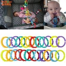 Детские Жевательные зубные щетки, прорезыватель, прорезыватель, кольцо для зубов, игрушка для рта, 24 шт