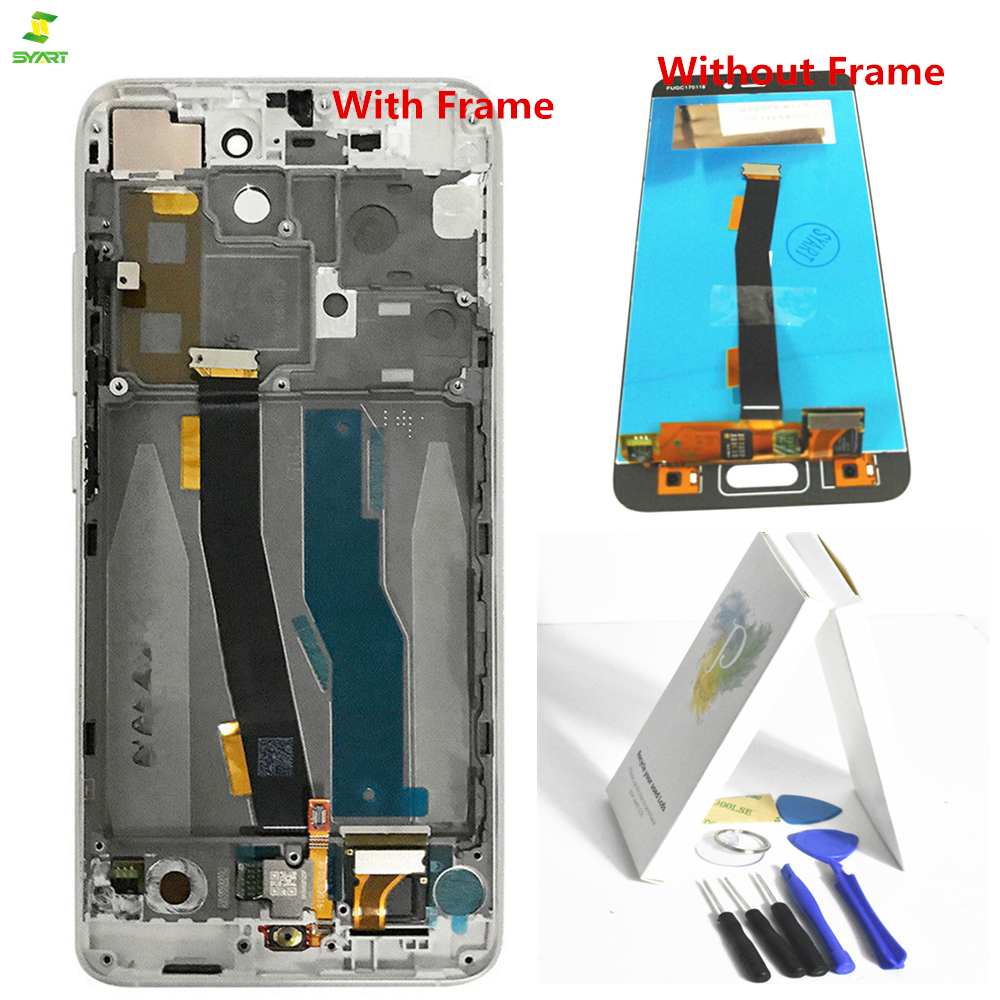 Mi5 Black Color For 5.15 Xiaomi Mi5 Mi 5 Full LCD Display With Touch Screen Digitizer Frame Assembly Replacement Complete AAA
