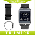 22mm Milanese Loop Strap Stainless Steel Watch Band Link Bracelet for Samsung Gear 2 R381 R382 R380 Moto 360 2 2nd Gen 46m 2015