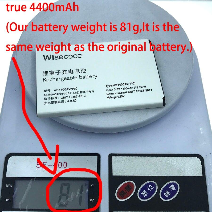 NEUE wahre 4400 mAh (unsere batterie gewicht ist 81g statt 65g) AB4400AWMC Batterie Für PHILIPS V387 Handy + Spurhaltungszahl