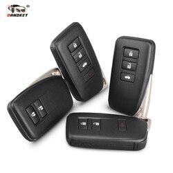 Dandkey 2 3 4 przyciski klucz Case dla LEXUS ES350 jest/ES/GS/NX/RX/ GX GS300 GS350 IS250 ES250 NX200 inteligentnego klucza samochód zdalnie klucz Shell