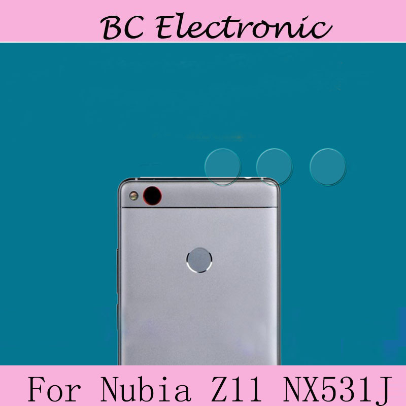 For ZTE nubia z11 NX531J Camera Tempered Glass Lens Screen Protector cover Back Cover Protective Clear Film Sticker