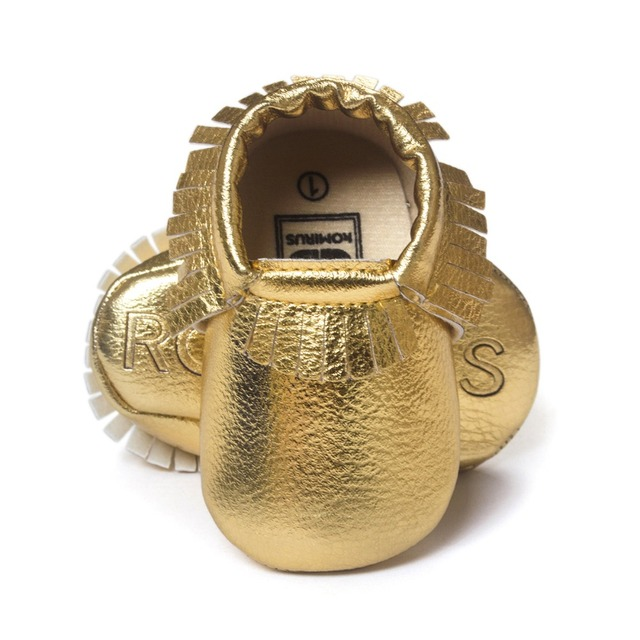 2019 Tassels 28-Color PU Leather Baby Shoes Baby Moccasins Newborn Soft Infants Crib Shoes Sneakers First Walker for boys girls 5