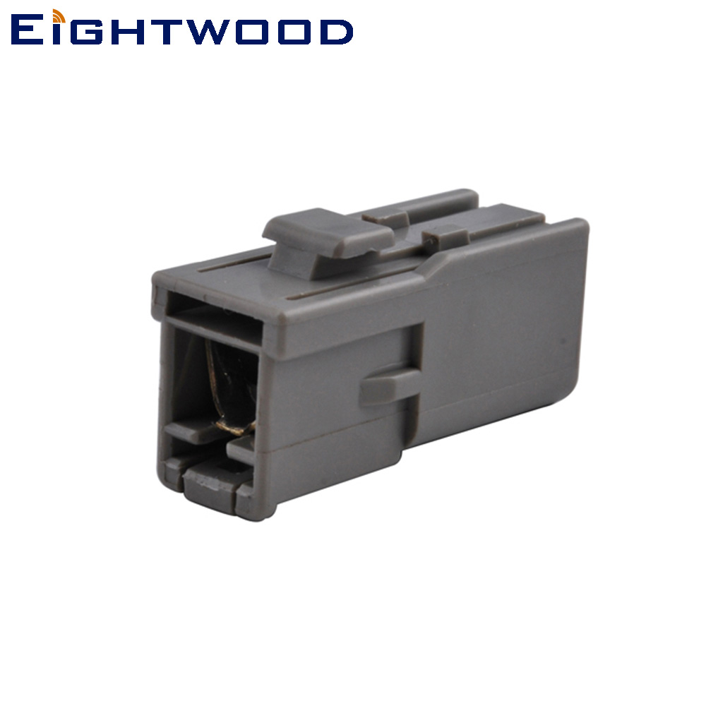 Eightwood HRS GT5 1S Crimp Car GSM / GPS Antenne Connetor voor RG316 RG174 LMR100 Compatibel met Pioneer Kenwood JVC Audi BNW