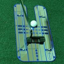Для игры в гольф выравнивания зеркало Гольф Выравнивание Учебное пособие легкий тренер качели практике Гольф аксессуары B81802