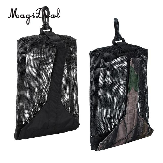 0b7af83fd0 MagiDeal Strong 1Pc Nylon Scuba Diving Dive Weight Pocket Accessory Mesh  Pouch Bag With Clip for Camera Drift Hook Equipment Acc