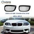 Овере автомобильный передний бампер гоночные грили решетки для BMW 1 серии E87 E81 2004 2005 2006 2007 M аксессуары для спортивных выступлений