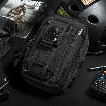 OneTigris Tactical MOLLE Bag Original EDC Pouch Utility Gadget Steel Sparrow Pouch Portable Daily Use Waist Bag Pocket Organizer