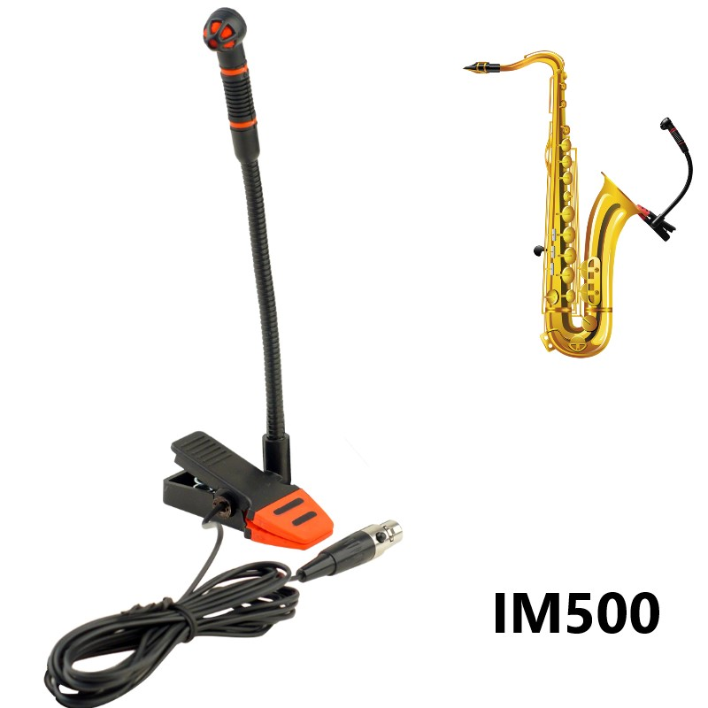 Alctron IM500 sax microphone unidirectional trumpet saxophone microphone orchestra professional musical instruments microphone
