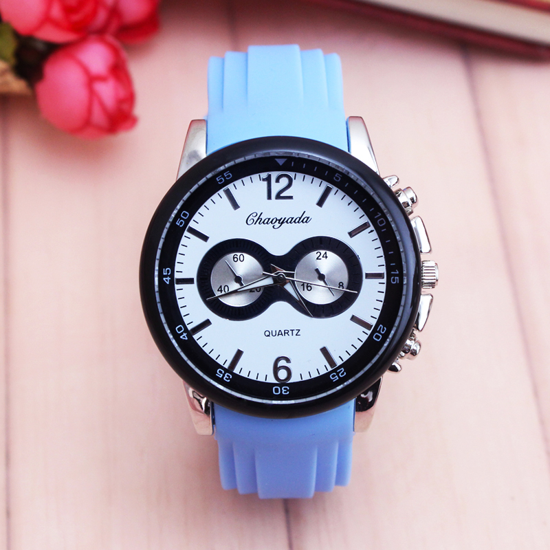 Women Men Lovers Quartz Watch Boys Girls Sports Silicone Watch Couples High Quality Casual Wrist Watch Fashion New Style Clock