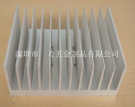 Fast Free Ship High power radiator,big power heatsink Super thick aluminum 140*59*100mm aluminum radiator 5pcs lot pure copper broken groove memory mos radiator fin raspberry pi chip notebook radiator 14 14 4 0mm copper heatsink