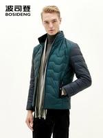 BOSIDENG down jacket for men down coat 90% duck down high quality green ultra light B1501081