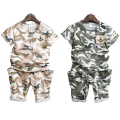 2016 Summer Boys Camouflage Clothes Baby Boy Military Style Children T-shirts Camo Pants Kids Fatigues Clothing Sun Descendants