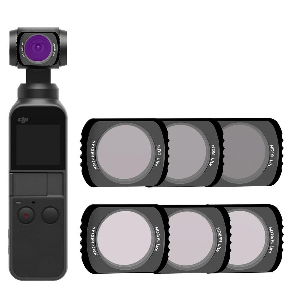 For OSMO POCKET ND4+8+16+NDPL4+8+ND16PL Filter Magnetic Adsorption For DJI OSMO POCKET  Accessories Camera Stabilizer Filter