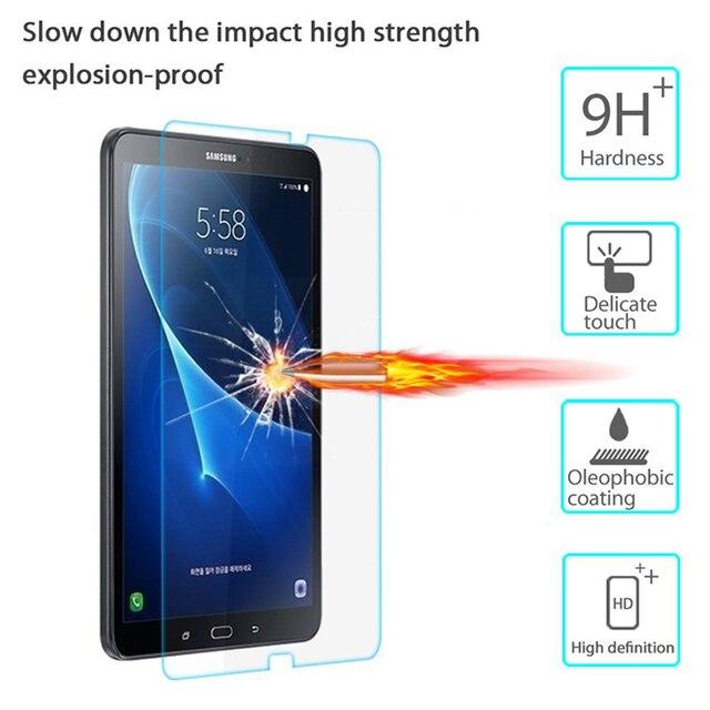 CHENCE de vidrio templado para Samsung Galaxy Tab A 10,1 DE 2016 A6 T580 T585 10,1 pulgadas Tablet PC Protector de pantalla LCD película