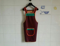 021045 Pet Store Kitchen Washing Factory Waterproof And Oil Thickening Apron In The Fall And Winter