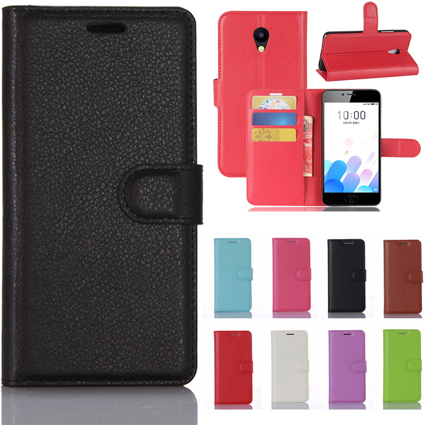 Meizu M5c Case Meizu M5c Case Cover 5.0 inch Luxury Wallet PU Leather Phone Case For Meizu M5c M710h Case Flip Protective Cover